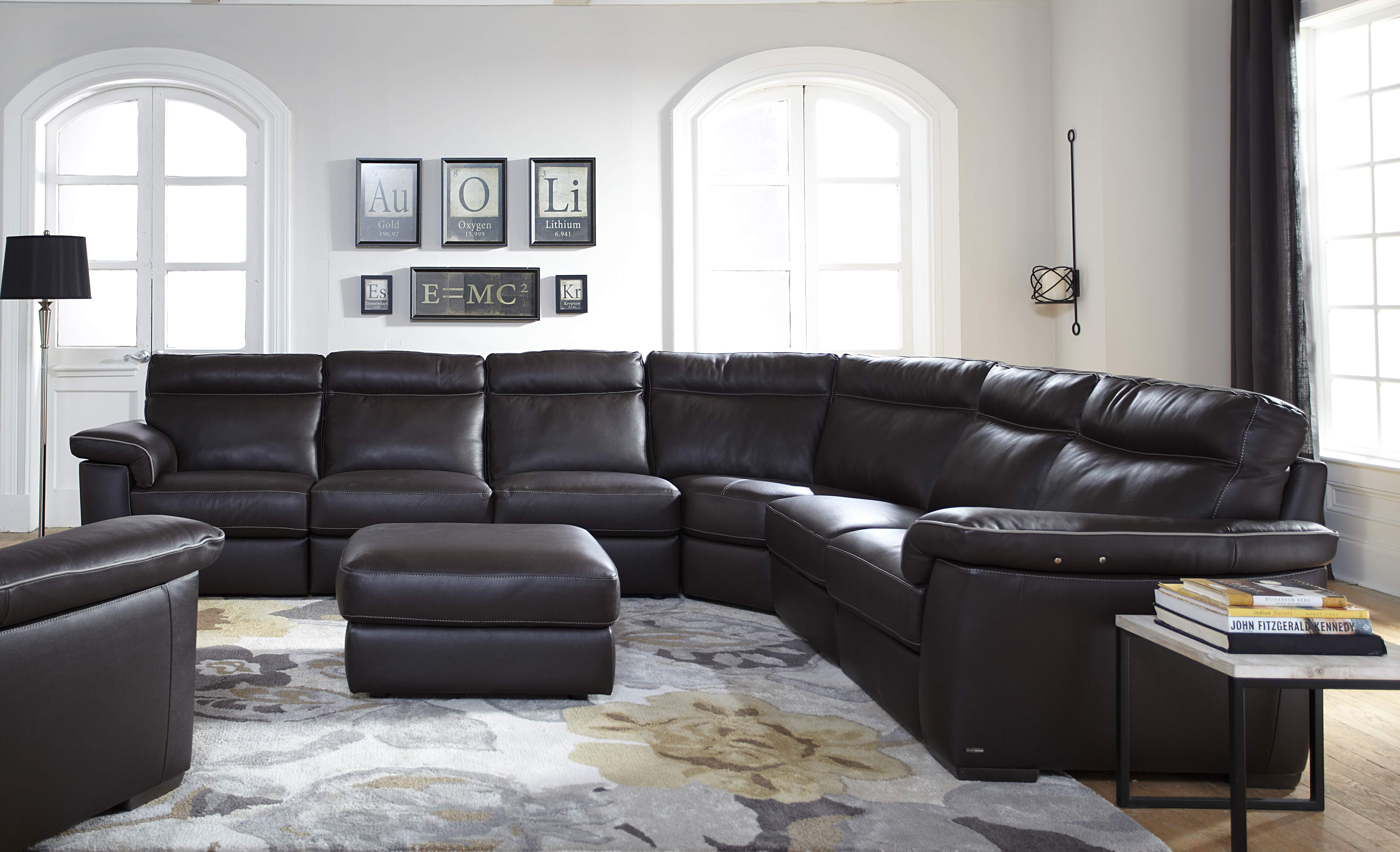 Natuzzi Editions Brivido B757 Sectional One Ten Home