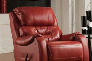 Southern Motion 1574 Sting Power Leather Recliner