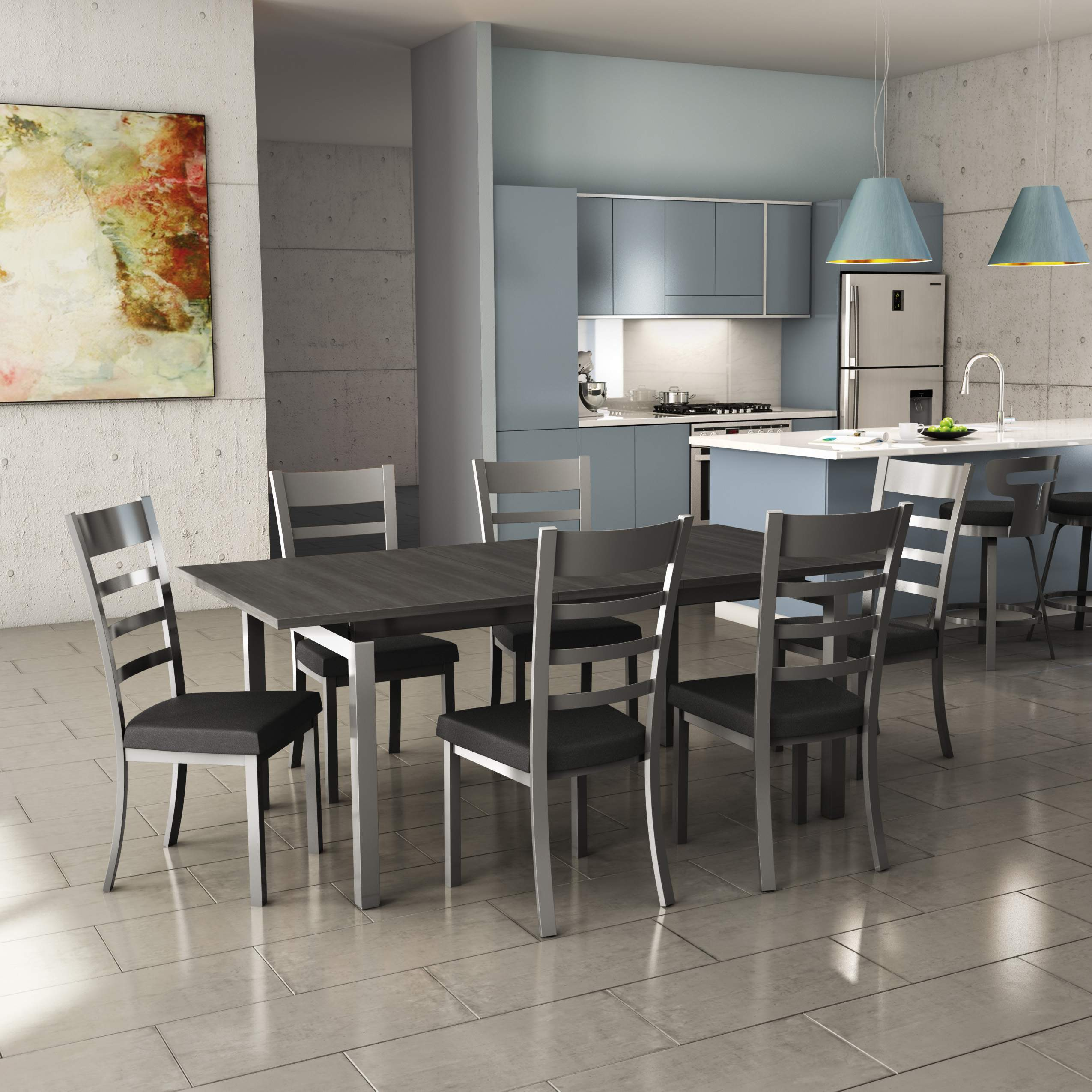Owen Modern Dining Room Furniture Set in Long Island