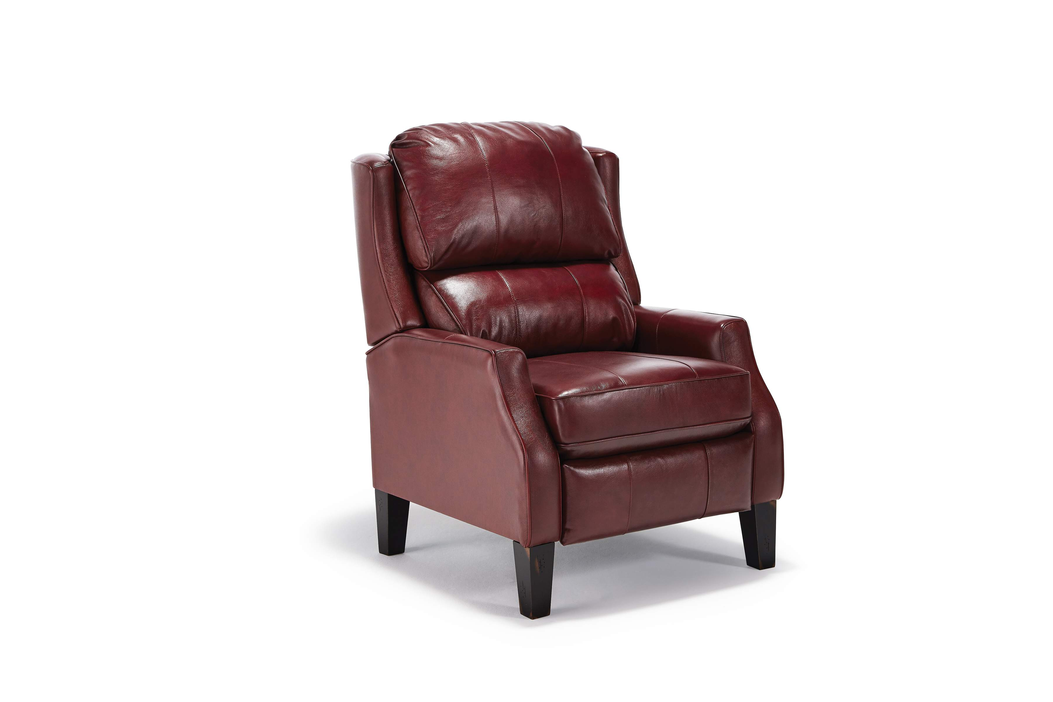 Best Home Furnishings Living Room Leather High Leg Recliner - Paulie Chair