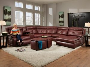 Southern Motion Dash 574 Reclining Sectional