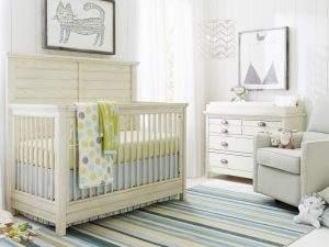 Chelsea Square driftwood crib
