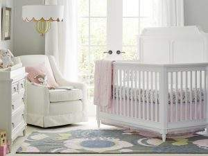 Clementine Court crib Frosting
