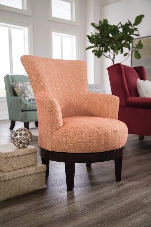Coral Barrel Chair Vignette