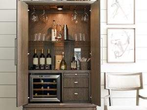Rachel Ray Home Highline bar cabinet