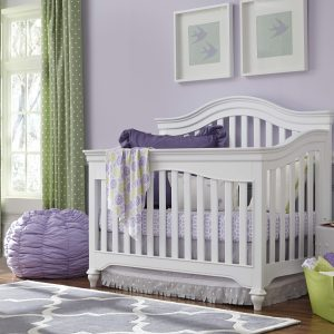 4.0 Classic White Child & Baby Crib