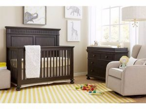 Smiling Hill crib Licorice