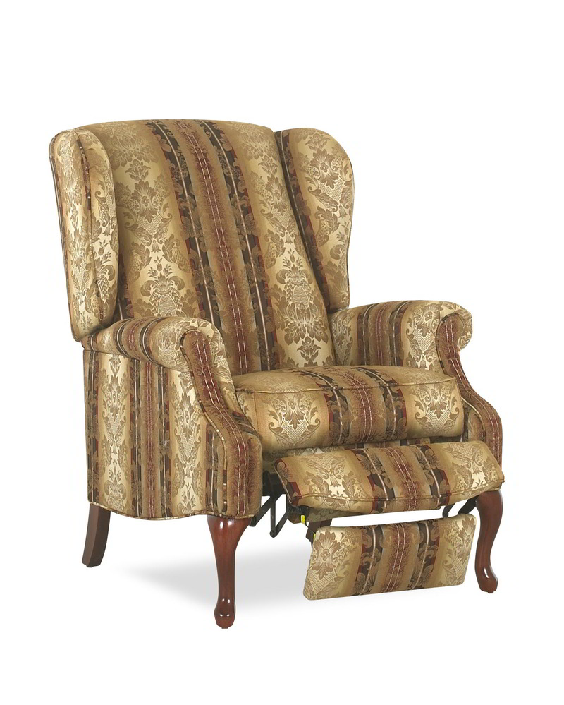 Mahogany 75008 High Leg Wing Chair Recliner | One Ten Home Furnishings