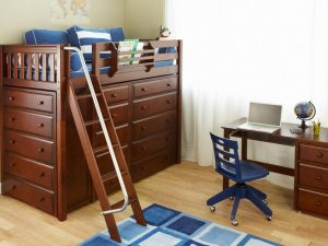 Storage-Loft-Bed-Chestnut