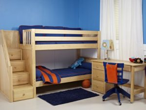 bunk-bed-natural-wood
