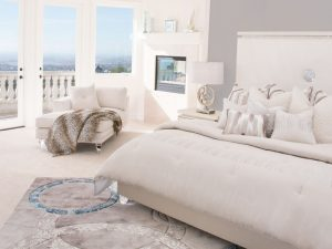 Michael Amini glimering heights bedroom