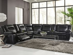 HTL 10137 power reclining sectional