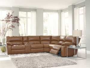 HTL 10195 Power reclining sectional