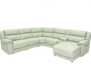 HTL 10490 5pc reclining sectional