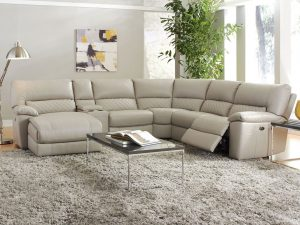 HTL 10497 5 pc reclining sectional