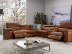 HTL 10736 6 pc reclining sectional
