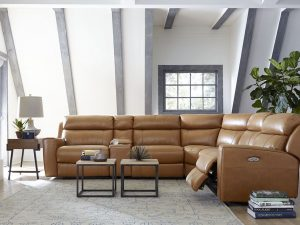 HTL 10878 Power reclining sectional