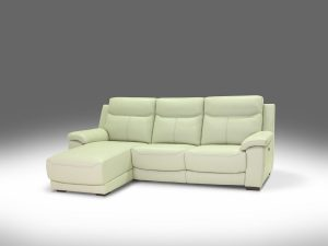HTL 10976 2pc sectional with Chaise and recliner