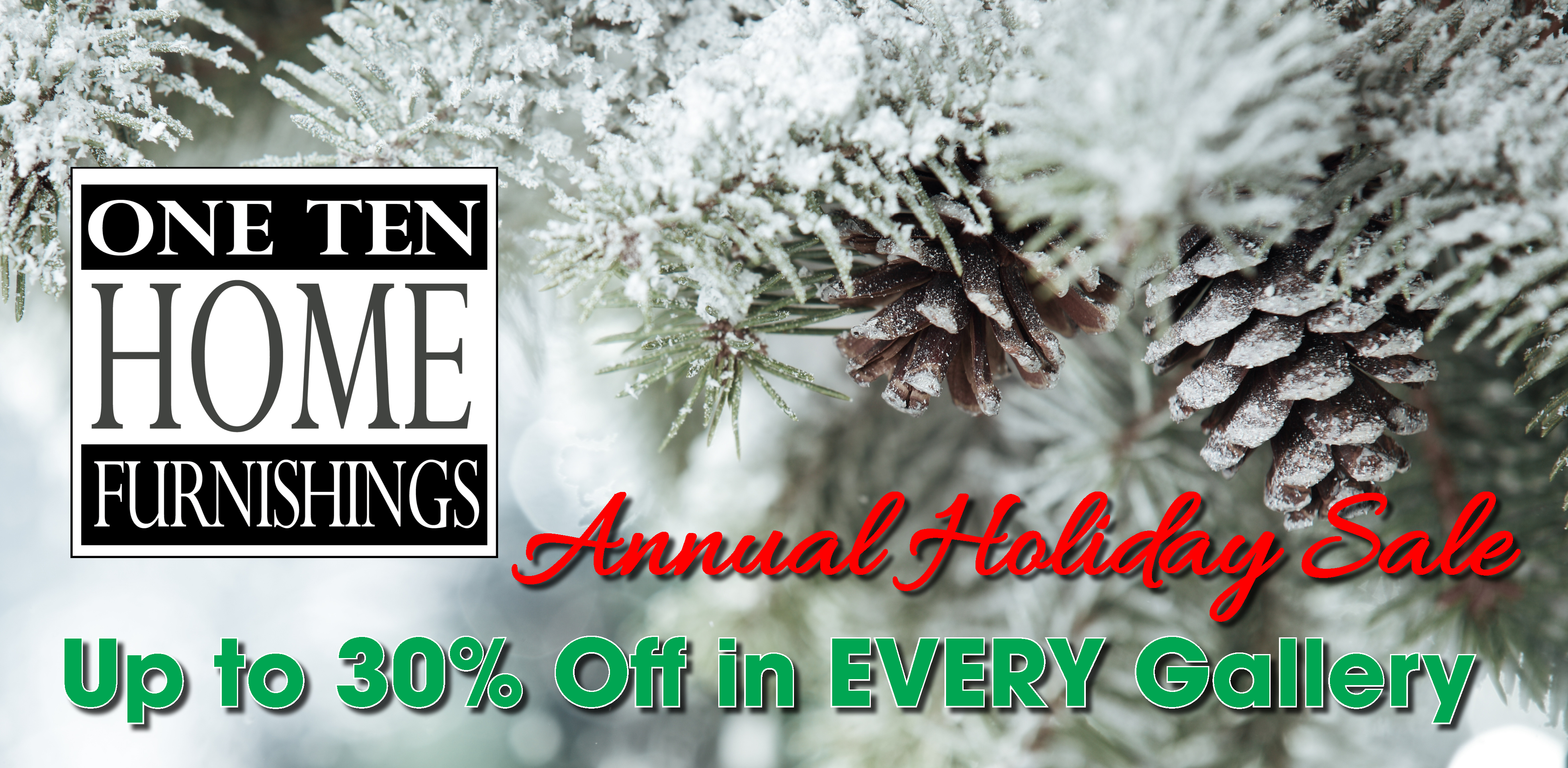 OneTen Holiday saleX