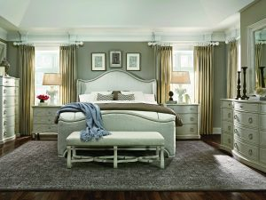 A.R.T. Chateaux Grey bedroom