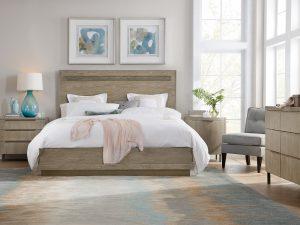 upholstered trim panel furniture hooker vintage bed item vintageking true bedroom threshold king height products width