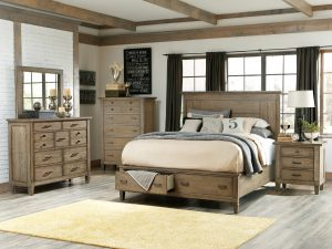 Legacy Classic Brownstone Village bedroom