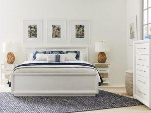 Panavista bedroom Alabaster finish