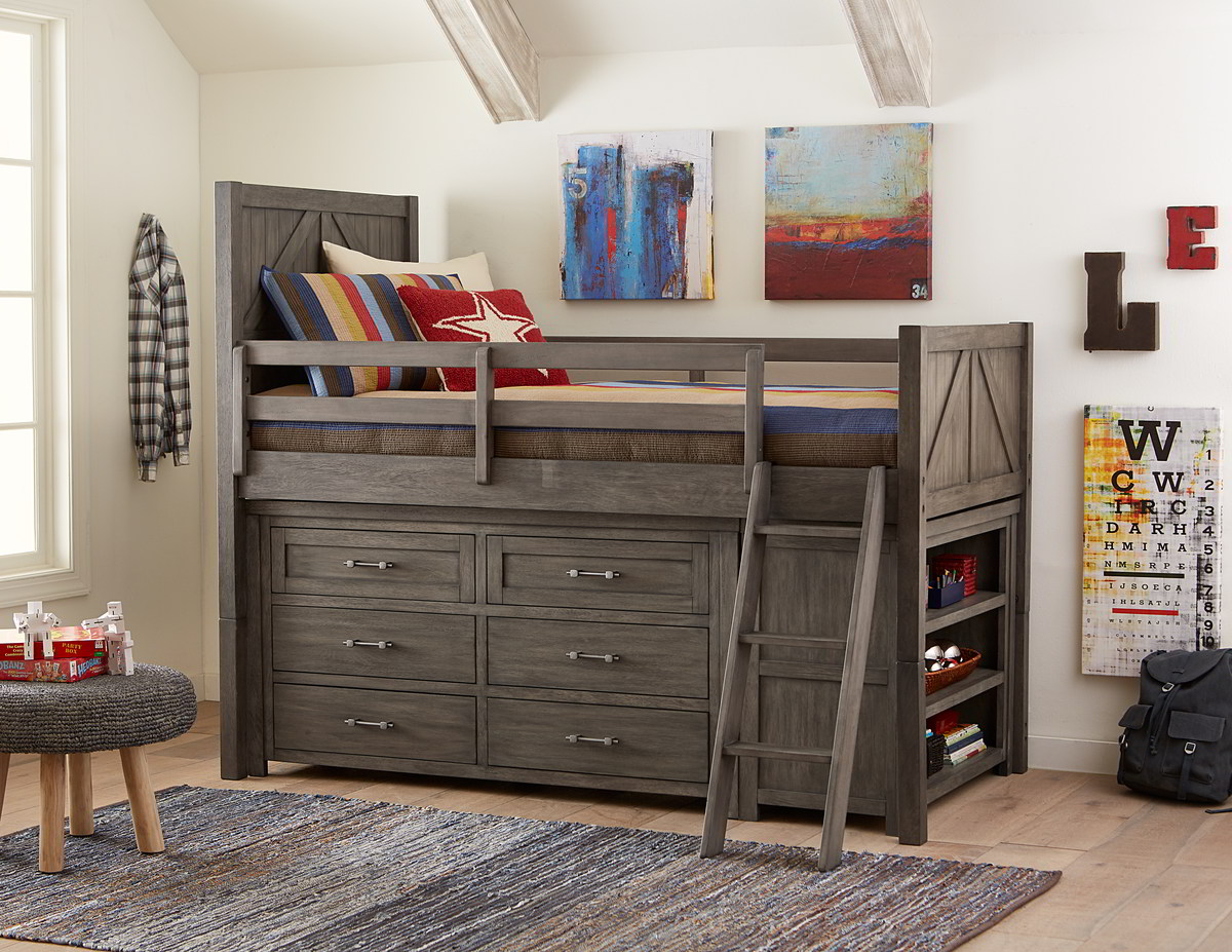 Bunkhouse Low Loft One Ten Home Furnishings
