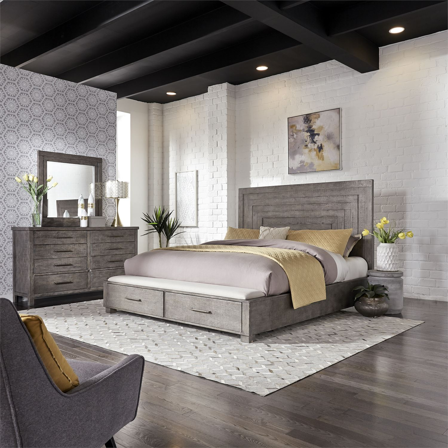 modern farmhouse bedroom collection for sale in