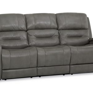 Washington Leather Couch for Sale in Long Island